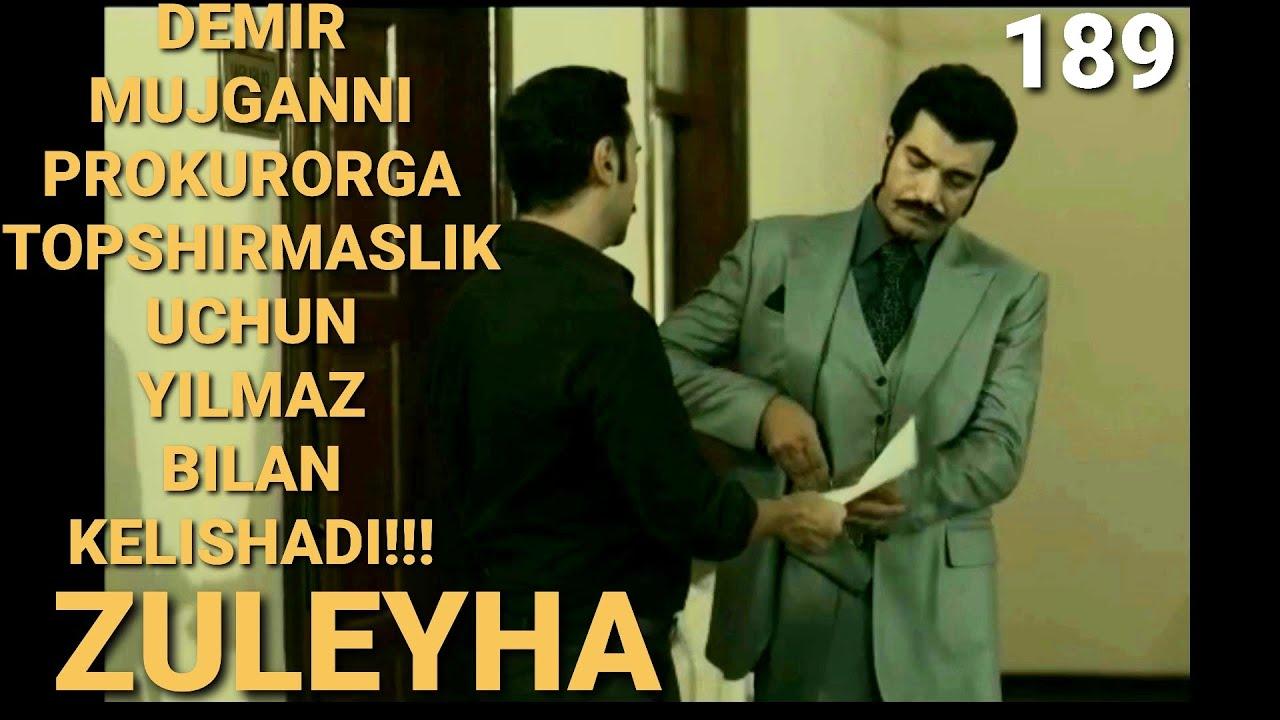 ZULEYHA 189 - QISM O'ZBEK TILIDA(TURK SERIALI) # ЗУЛЕЙХА 189 - КИСМ УЗБЕК ТИЛИДА (ТУРК СЕРИАЛИ)