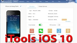 iTools iOS 10 latest version preview [iTools 2016]