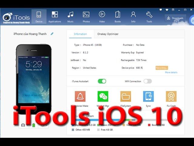iTools iOS 10 2 Download [English Update] iOS 10 3 iTools
