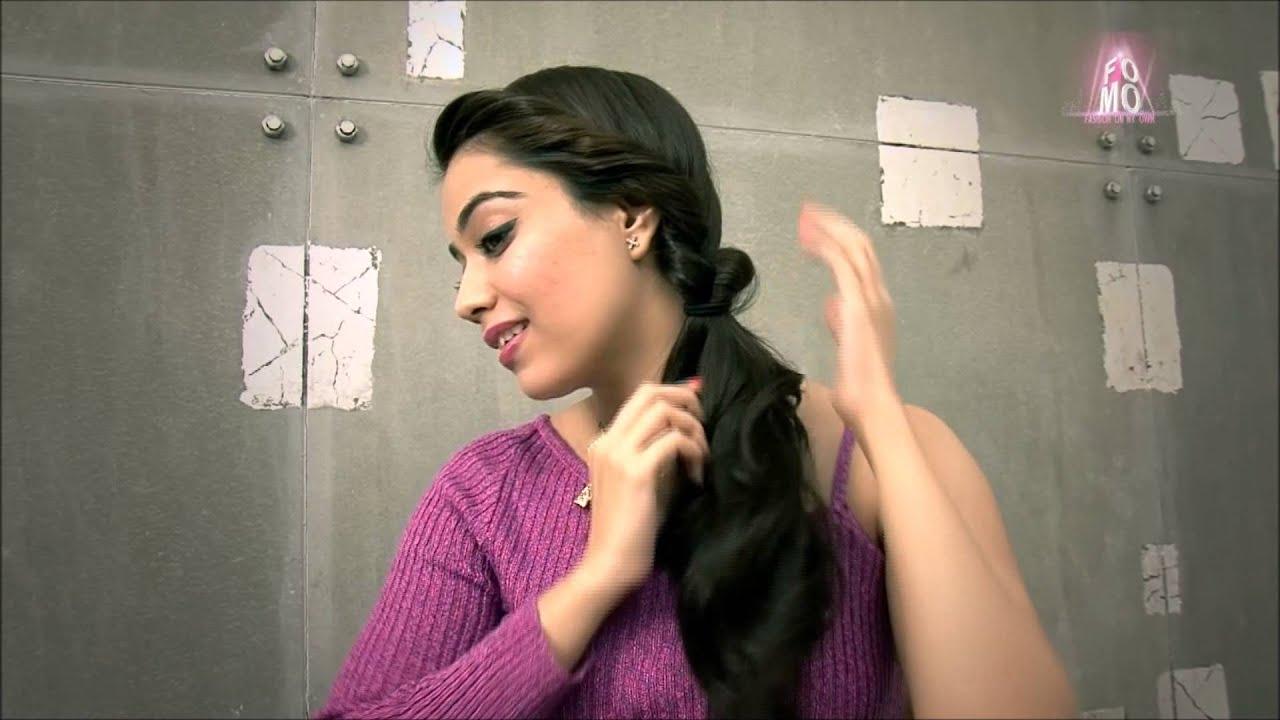 topsy tail hairstyles (hindi) - youtube