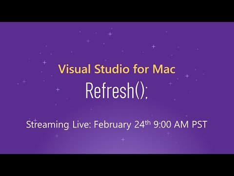 Visual Studio for Mac: Refresh();