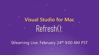 Visual Studio for Mac: Refresh();