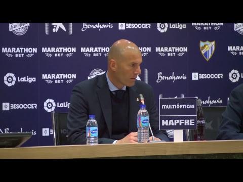 En directo: Rueda de prensa Zinedine Zidane