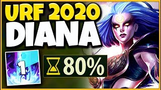 *DIANA REWORK* WORLDS FIRST URF 2020 GAMEPLAY (NEW DRAGONS) - League of Legends