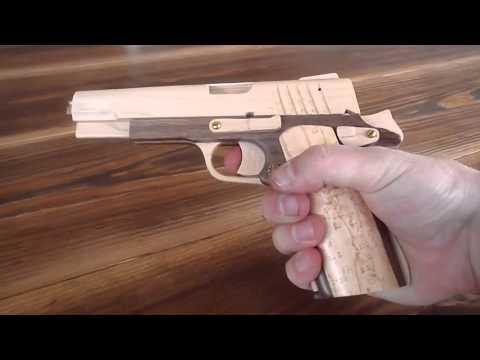 M1911 Rubber Band Gun - YouTube