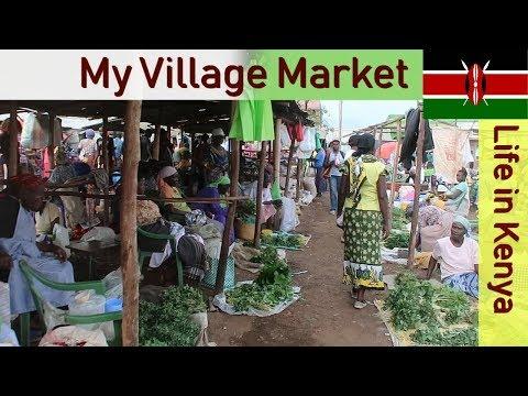My Village Market   Life in Kenya