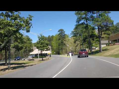 Entrance to hot springs village Arkansas