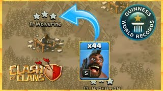 Can We Beat Max TH9 With 44 Hogs ?😱 In Clash Of Clans (Hindi)