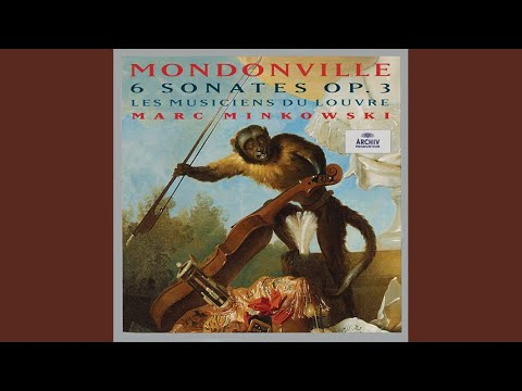 Mondonville: Sonate No.4 (Six Sonates En Symphonies Op.3) - 2. Aria: Andante Gratioso