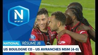 J8 : US Boulogne CO - US Avranches MSM (4-0), le résumé I National FFF 2018-2019