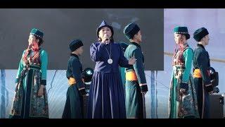 На главной площади Улан-Удэ отметили 95 летие Бурятии