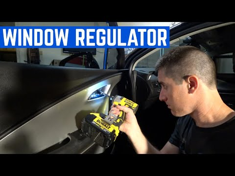 HOW-TO: Replace Chevy Volt Window Regulator