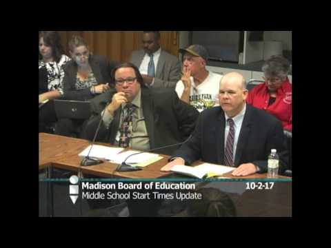 Board of Education Instruction Work Group 10/2/2017