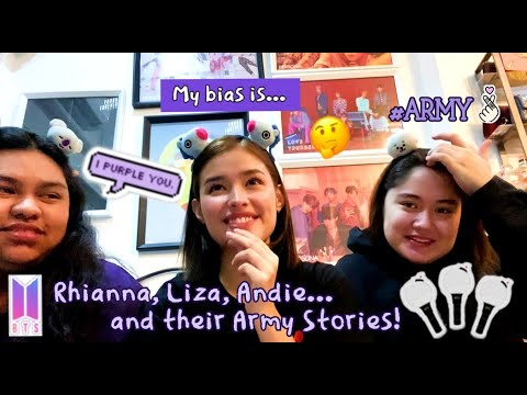 [FULL VIDEO] BTS - Liza Soberano and her chingus talk about being an Army and their love for BTS!