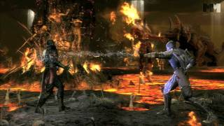 Mortal Kombat 9 - Rain | new kombatant trailer [HD] OFFICIAL Trailer MK9 (2011)