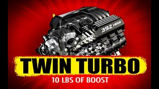 6.4L 392 Owner INSTALLS Twin Turbos on Stock Motor!!!