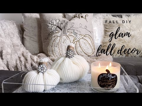 3 SIMPLE & AFFORDABLE GLAM FALL DIY'S