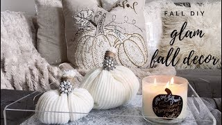 DIY FALL HOME DECOR! 3 SIMPLE IDEAS FOR FALL!