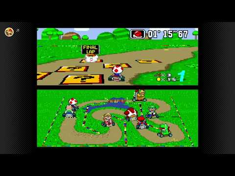 Snes Online - (Nintendo Switch) - Super Mario Kart - Gameplay