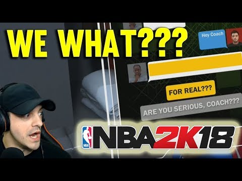 BIGGEST TEXT OF OUR LIFE - NBA2k18 MYCAREER CENTER GAMEPLAY #12