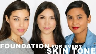 FOUNDATION TUTORIAL | How to Match Foundation to Your Skin | Eman