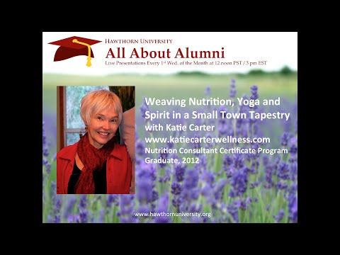 All About Alumni: Weaving Nutrition, Yoga and Spirit in a Sm