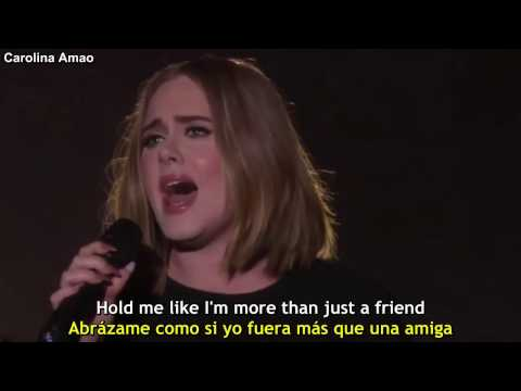 Adele  All I Ask Lyrics + Sub Español