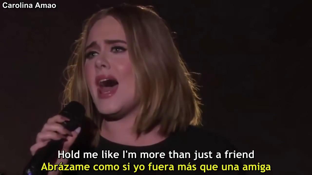 Adele All I Ask Lyrics Sub Español Youtube