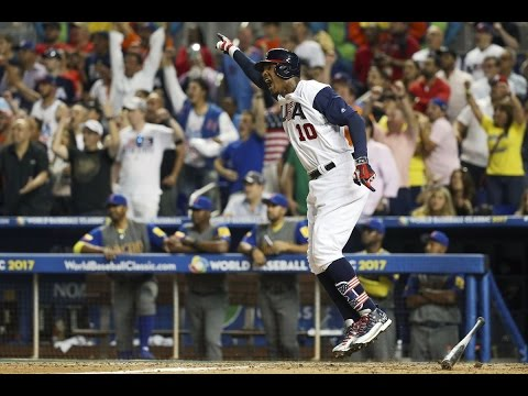 Team USA 2017 WBC Highlights
