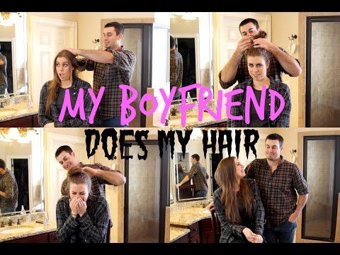 MY BOYFRIEND DOES MY HAIR - Christina Cimorelli