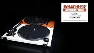 Best Budget Turntable 2014 - Pro-ject Essential Ii