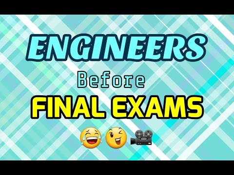 ENGINEERS before Final Exams - 2017 Funny Video by idiot Programerz