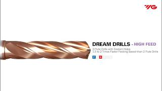 Dream Drill High Feed / YG-1 Cutting tools