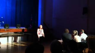 Amazing 10 Year Old Jessie Hammond singing Cher Lloyd Hard Knock Life Jay-Z Version