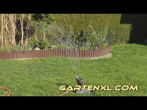 Rasen Bewässern Rasen Gießen Mit Rasensprenger Und Brause Youtube