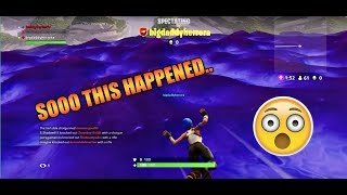 FORTNITE OUT OF MAP GLITCH....