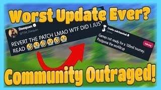 Epic REALLY Messed Up With This Fortnite UPDATE (8.20 Patch) (No Health / Shield on Kills)