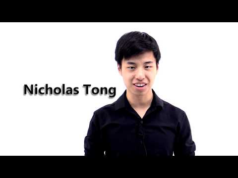 Nicholas Tong - Testmasters Referral Champion ($1,000)