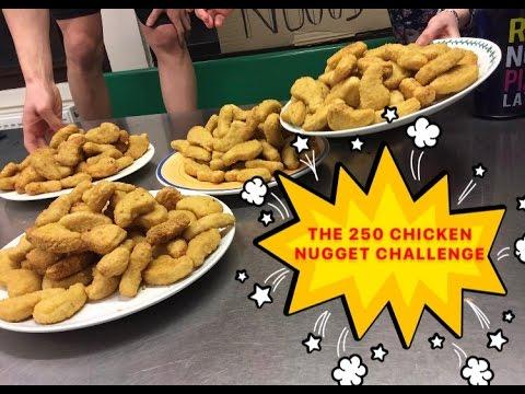 THE 250 CHICKEN NUGGET CHALLENGE