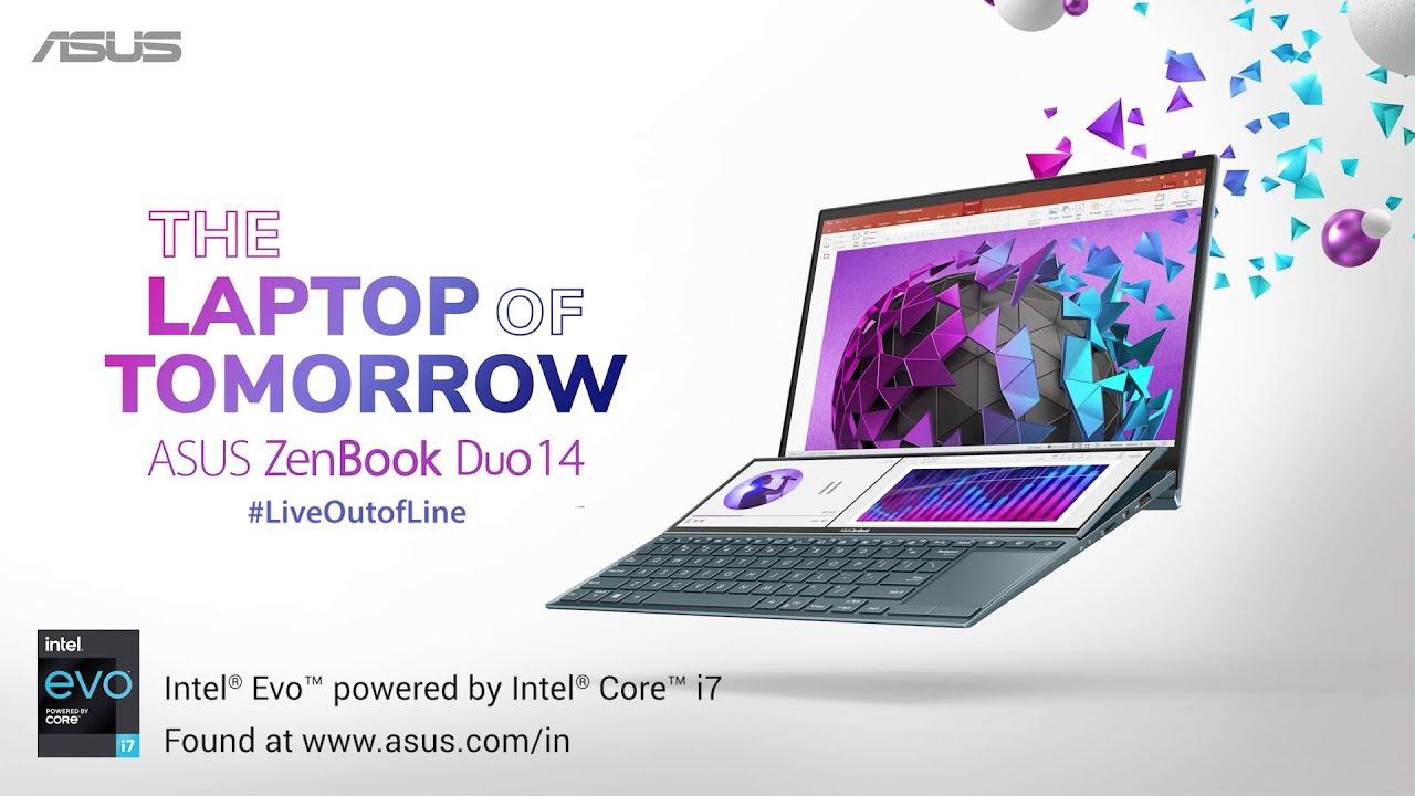 #LiveOutofLine with the #LaptopofTomorrow | ASUS ZenBook Duo 14