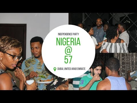 NIGERIA AT 57 INDEPENDENCE PARTY DUBAI | #DUBAI LIVING 03 | Lara TESHOLA