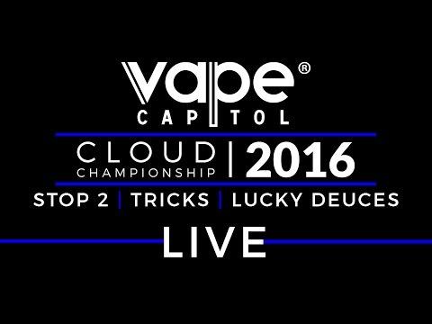 Live   2016 VCCC Stop 2   Vape Tricks