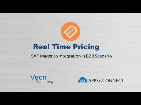 Real Time Price Sync from SAP ECC into  Magento for B2B Scenario
