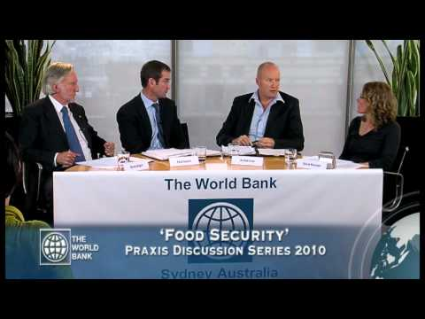 World Bank Praxis Discussion Series: Food Security