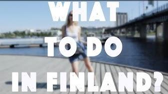 WHAT TO DO IN FINLAND? | JOENSUU