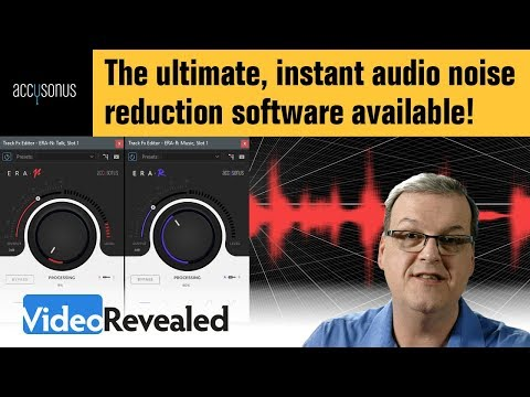 The ultimate, instant audio noise reduction software available