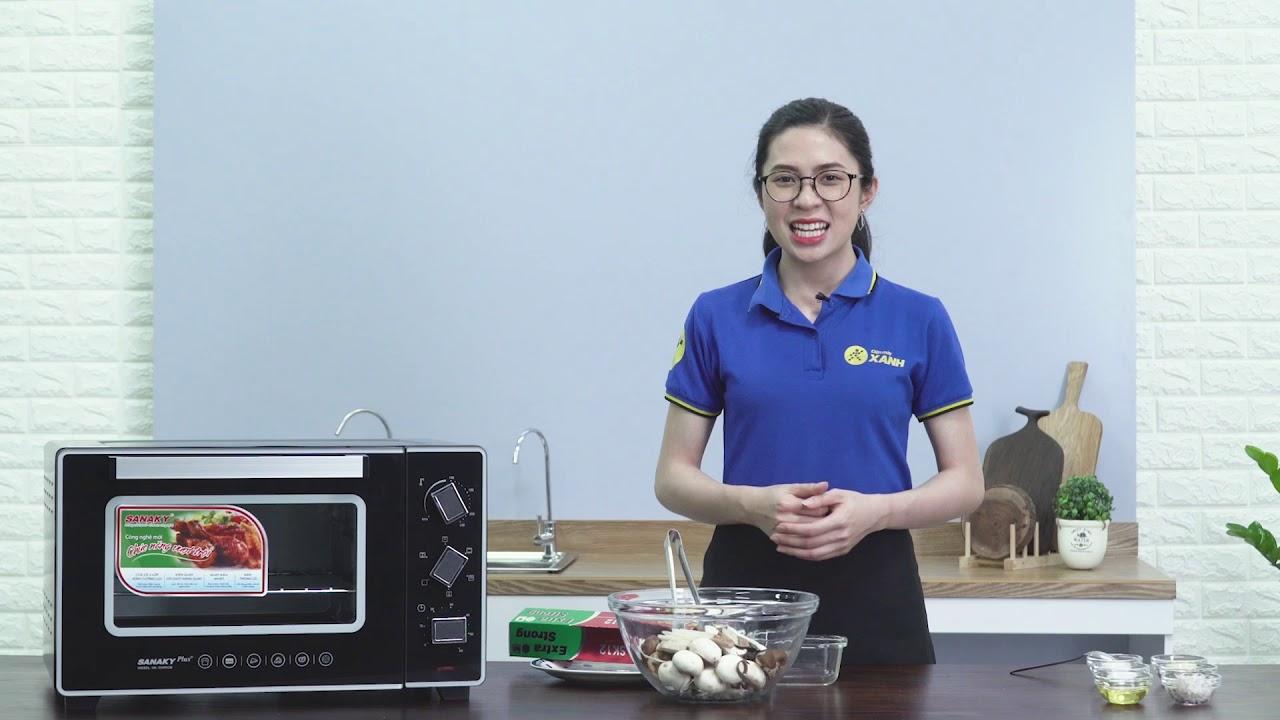 Lò nướng Sanaky 35 lít: hàng bền giá tốt (VH3599S2D) | Điện máy XANH