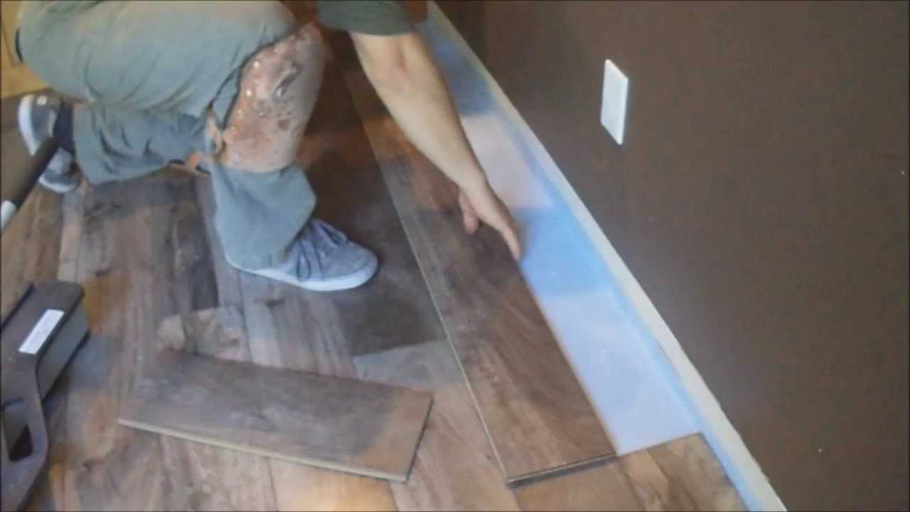 Laminate Flooring Installation Tips How To Finish Laminate Flooring Installation Youtube