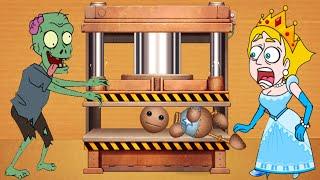 Save The Girl vs kick the Buddy Gameplay Walkthrough Pro vs Noob - All Level Solution