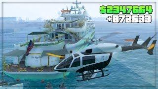 GTA 5 DLC Online! Party Yacht Gameplay $50 Million DLC Spending Spree ! (GTA 5 Online DLC Gameplay)